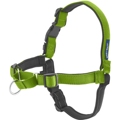 Deluxe Easy Walk Med/Lrg No Pull Harness Apple/Black