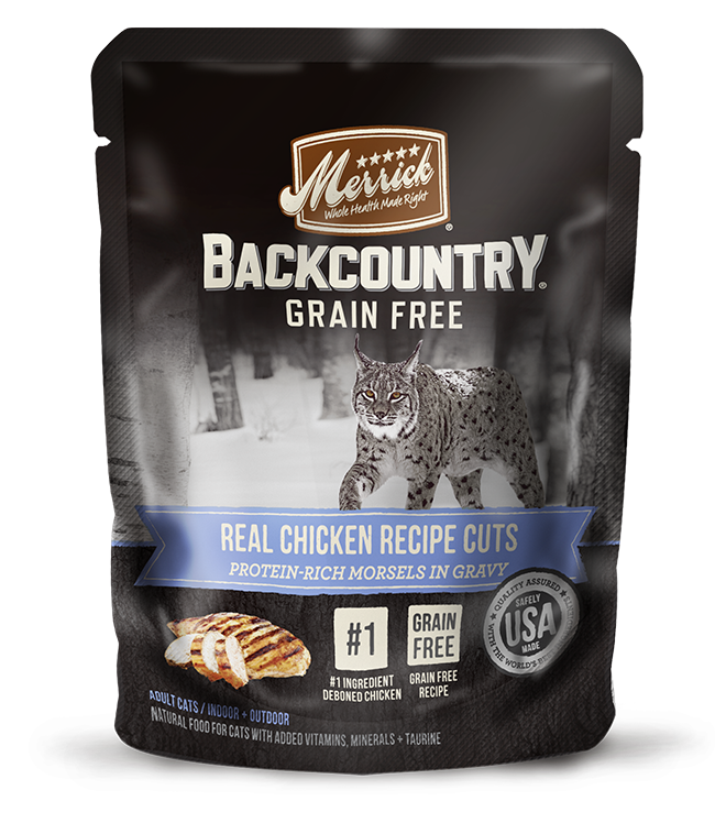 Merrick - Back Country - Wet Cat Food - Real Chicken Cuts