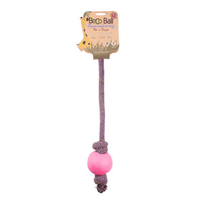 Beco Ball on a Rope - Pink