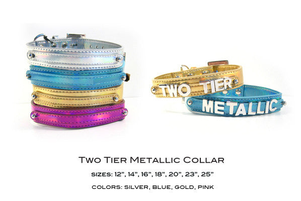 Bling Metallic Collars