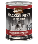 Merrick Back Country Chunky Beef Dinner Dog Food