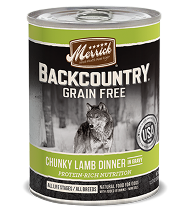 Merrick Backcountry Chunky Lamb Dog Food