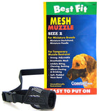 Best Fit Mesh Muzzle - Size 2 Miniature Breeds