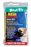 Best Fit Mesh Muzzle - Size 8 XL Breeds