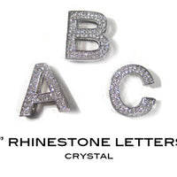 Bling Letters - Silver