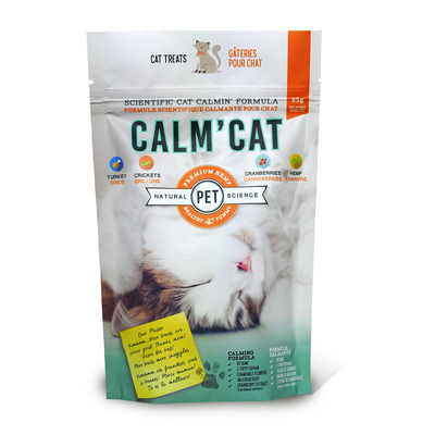 Calm' Cat Hemp & Cricket Treats NEW