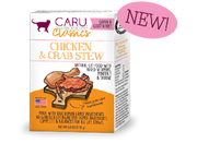 Caru Natural Chicken & Crab Stew for Cats 6 oz (NEW)