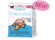 Caru Natural Turkey Stew for Cats 6 oz (NEW)