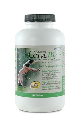 Advanced Cetyl M Joint Action Formula for Dogs 120 tablets
