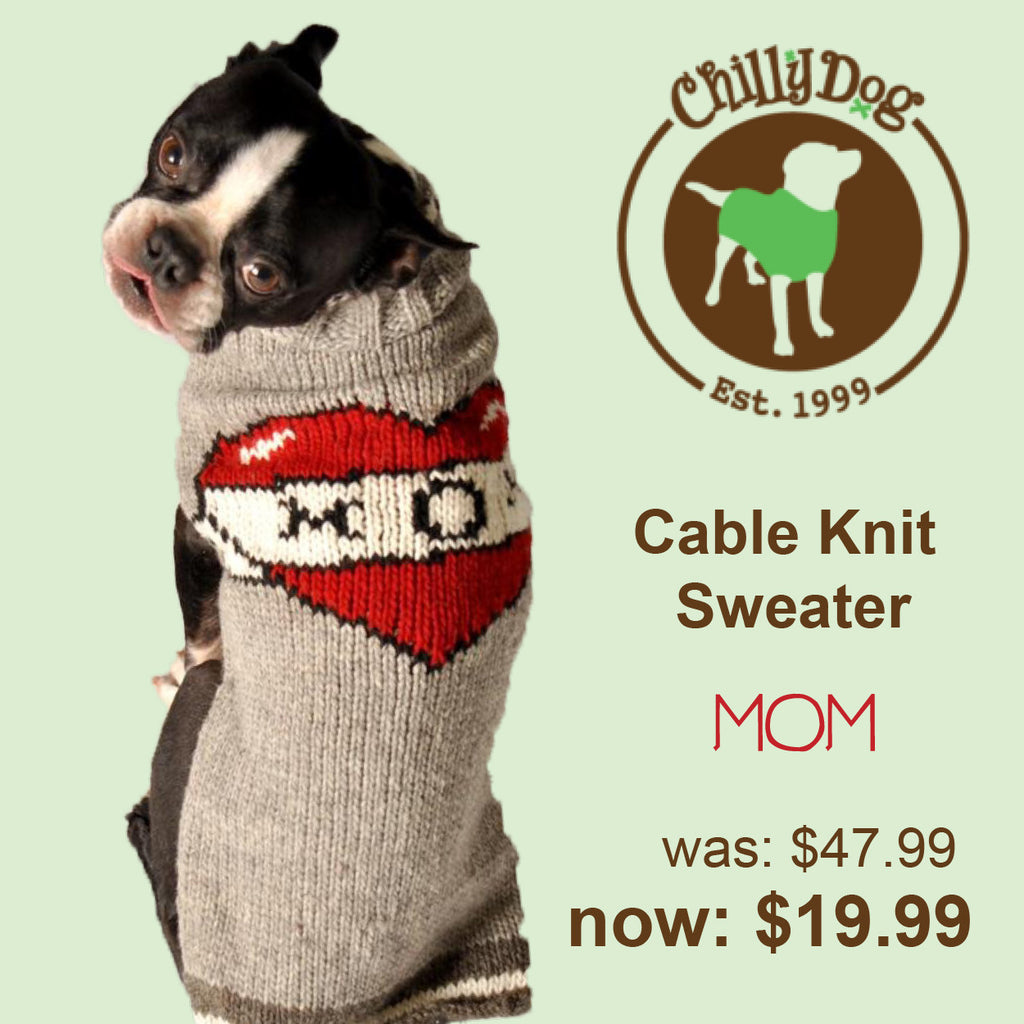 Chilly Dog Mom Tattoo Sweater SALE