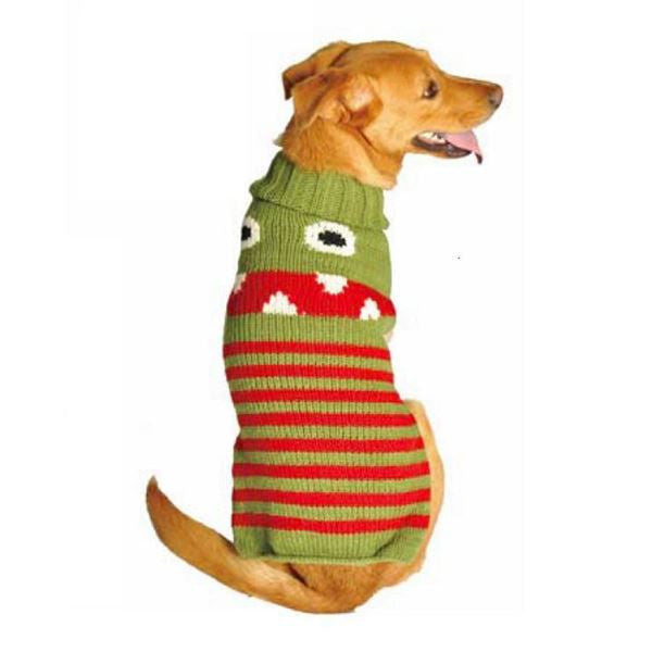 Chilly Dog Novelty Monster Sweater SALE
