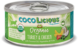 Cocolicious Organic Turkey & Chicken Cat Can