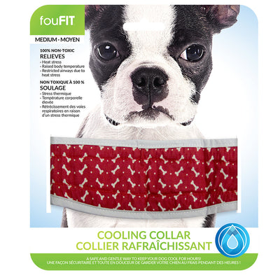 Fou Fit - Cooling Collars - Red SALE