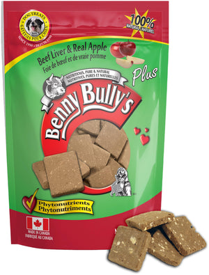 Benny Bullys - Liver with Apple Dog Treats SALE 20% OFF
