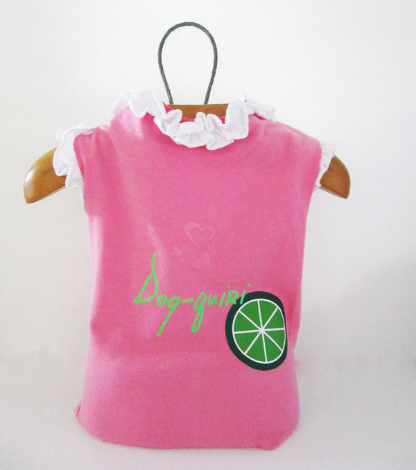 Fetchwear Summer T Shirt - Pink Dog-quiri SALE