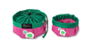 Doggles - Sierra Dog Supply - Travel Bowl - Pink Flower