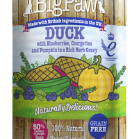 Little Big Paw - Duck with Blueberries, Courgettes and Pumpkin - Wet Dog Food
