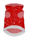 Fetchwear Red Raincoat for Dogs - Bottom