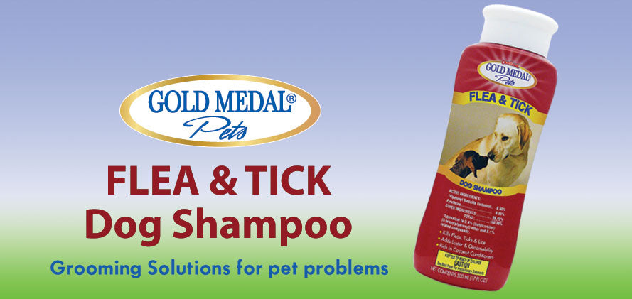 Cardinal Labs - Gold Medal Pets - Flea & Tick Shampoo for Dogs & Cats