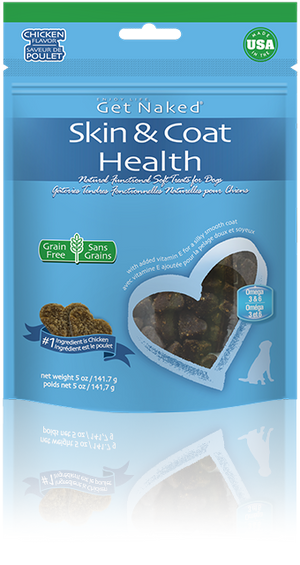 Get Naked Skin & Coat Health Soft Treats for Dogs