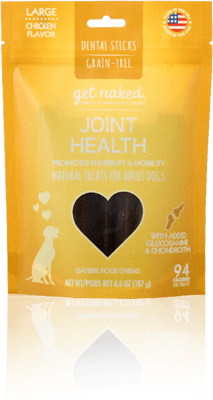 Get Naked - Grain-Free Dental Sticks - Joint Health
