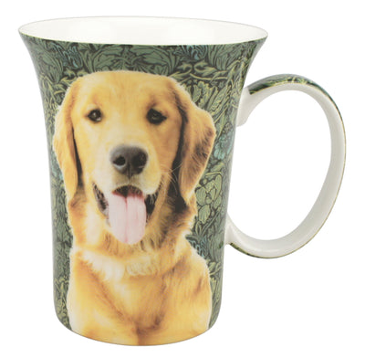 McIntosh Fine Bone China Mugs - Golden Retriever