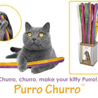 Goli Design - Purro Churro - Organic Catnip Infused cat toy - singles