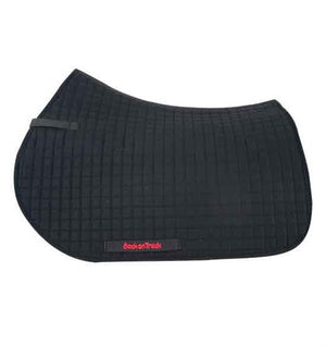 Back On Track - Equine - Saddle Pad with Firm Pad - Black