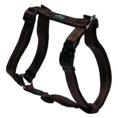 Rogz - Adjustable Harness - Chocolate - Medium/Large