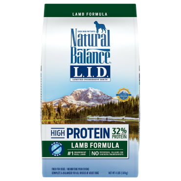 Natural Balance - Dry Dog Food - Limited Ingredient Diet - High Protein Lamb