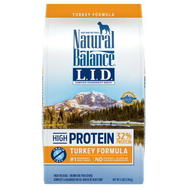 Natural Pet Foods - Dry Dog Food - Limited Ingredient Diet - High Protein Turkey