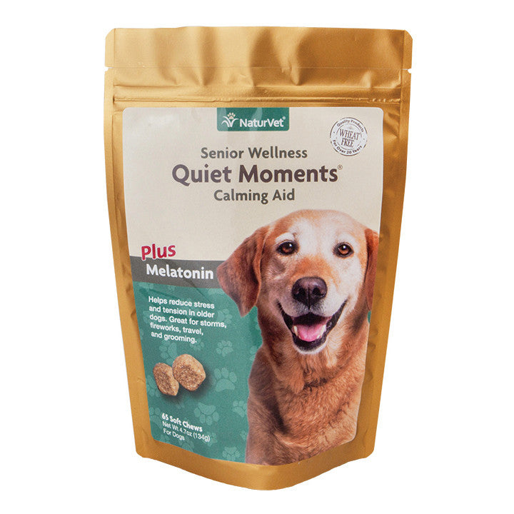 NaturVet Senior Wellness Quiet Moments Calming Aid