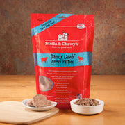 Stella & Chewy's Dandy Lamb Dinner Patties 14oz Freeze Dried Dog Foods