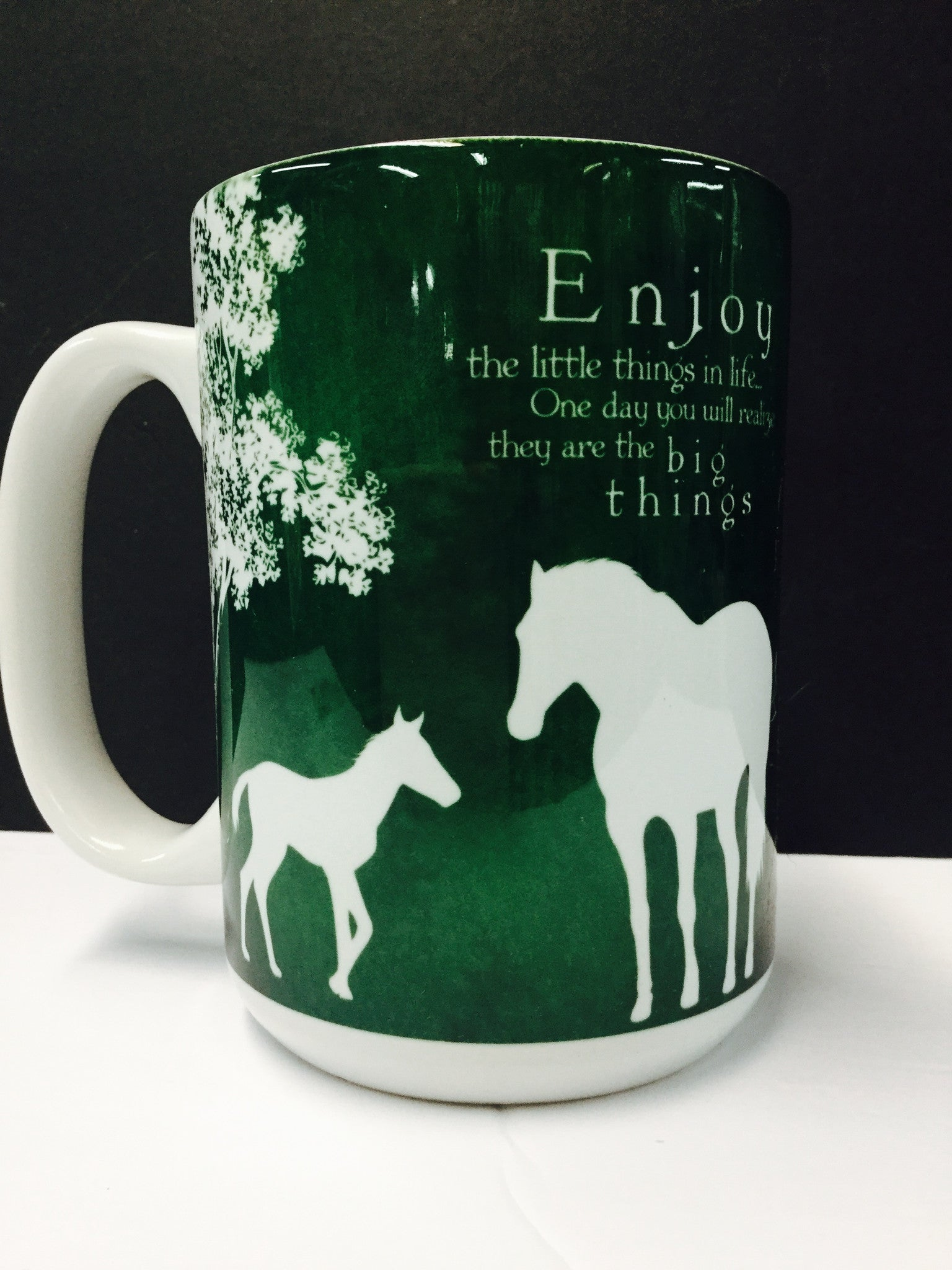 "Coffee Mug ""Enjoy the little things in life..."""