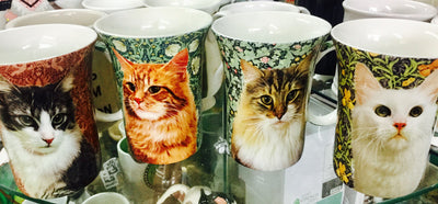 McIntosh Fine Bone China Mugs - Feline Friends Collection