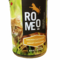 Romeo - Canned Cat Food - Chicken Cacciatore