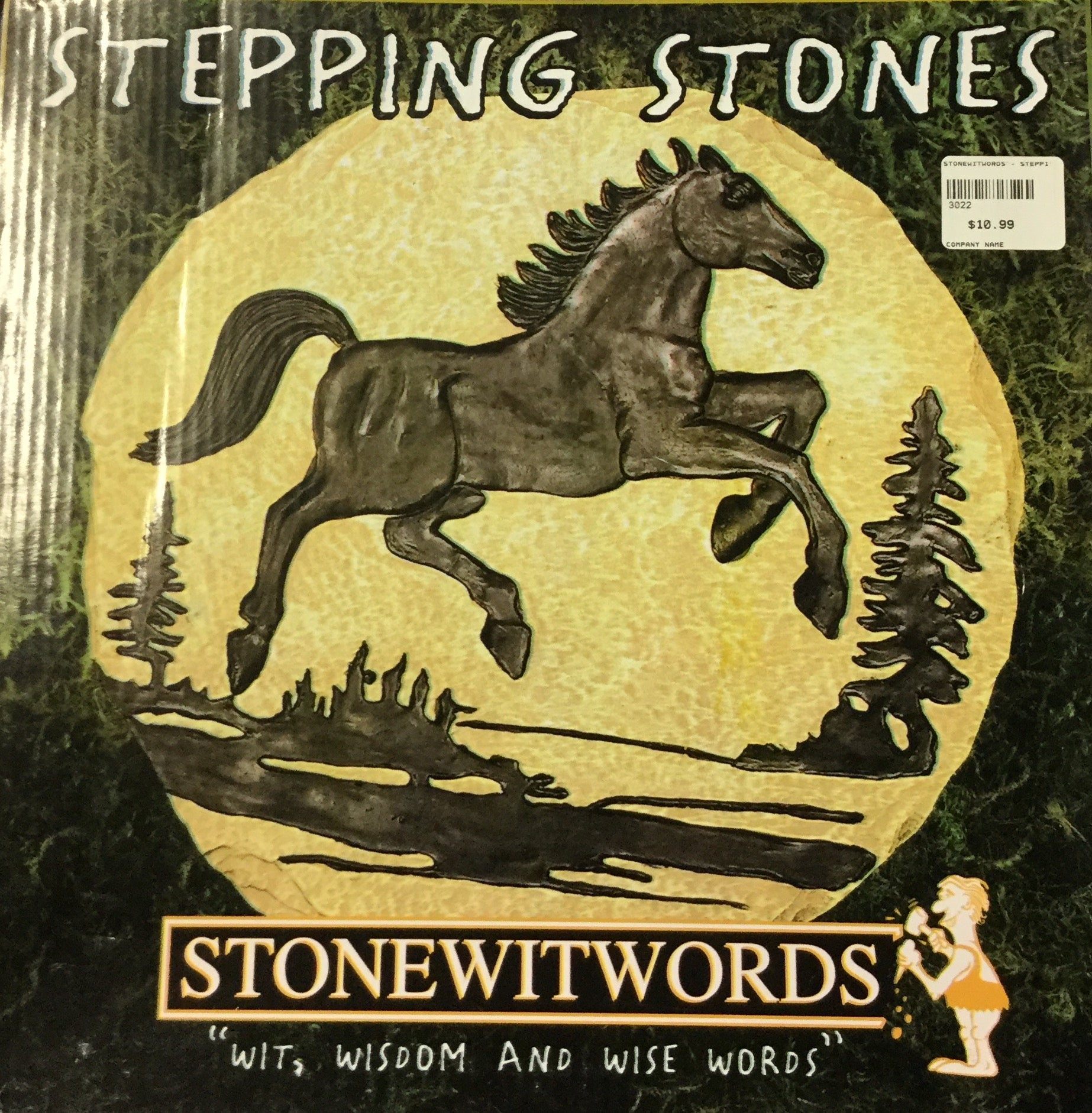 Stonewitwords - Stepping Stones SALE