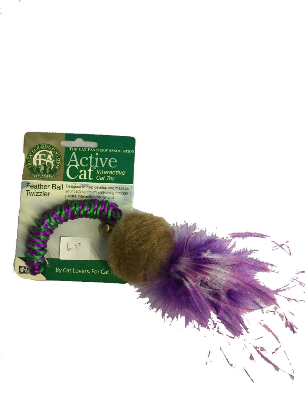 Jakks - Active Cat - Feather Ball Twizzler
