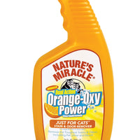 Orange oxy cleaner for soils and stains