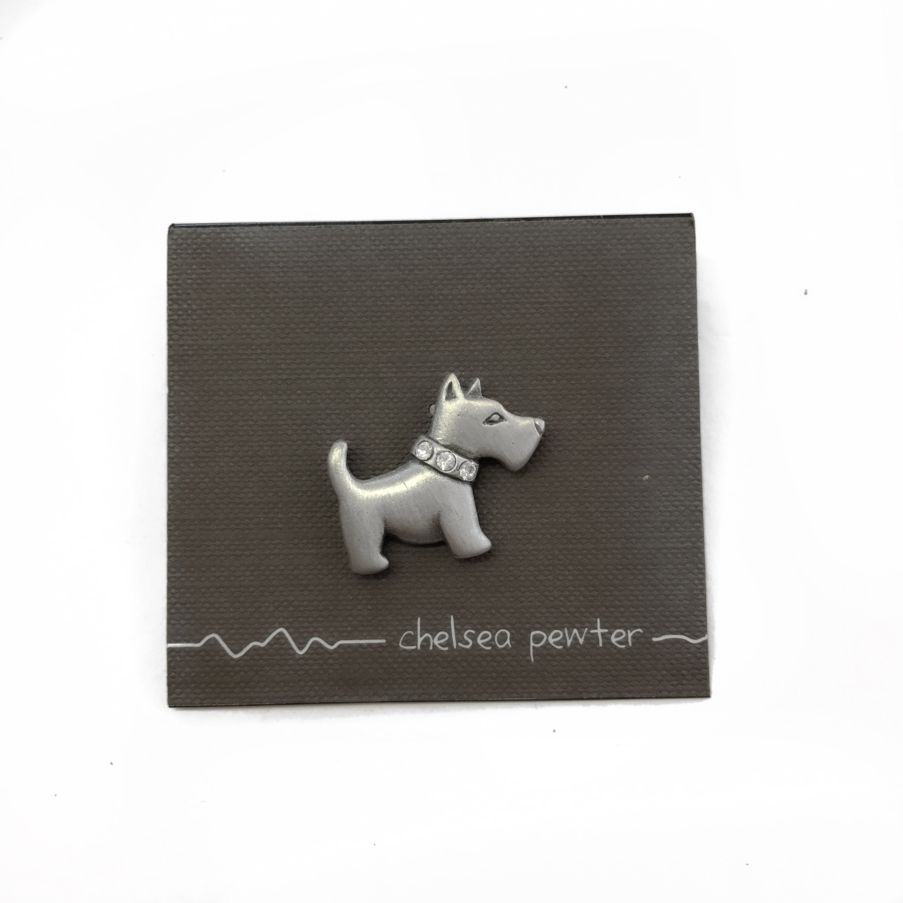 Chelsea - Scotty Dog Pin