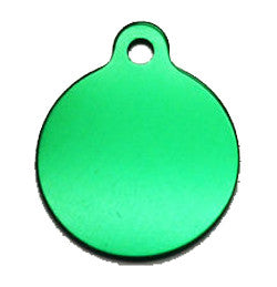 ID Tag - Small Green Circle