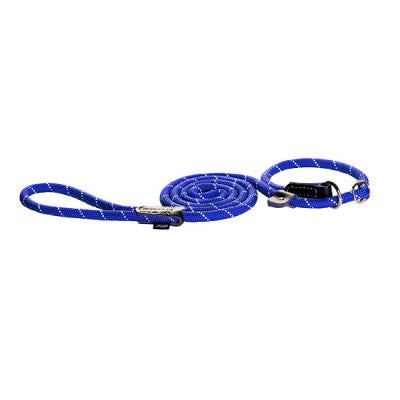 Rogz - Rope - Slip Lead - 6ft - Blue