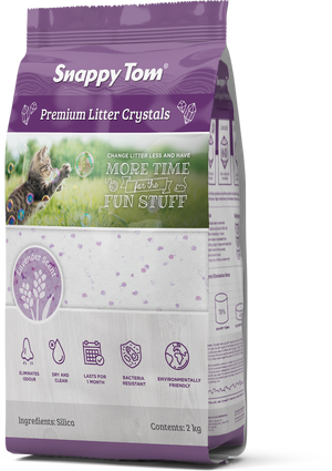 Snappy Tom - Crystal Litter - Lavender Scent