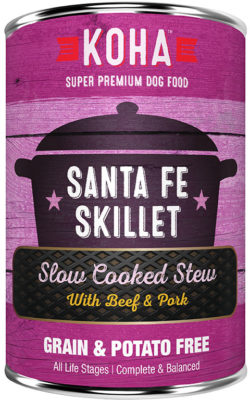 KOHA - Slow Cooked Stew - Canned Dog Food - Santa Fe Skillet