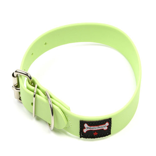 Smoochy Poochy - Polyvinyl Waterproof Collar - Mint