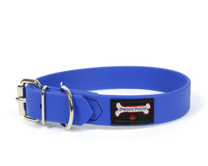 Smoochy Poochy - Polyvinyl Waterproof Collar - Ocean Blue