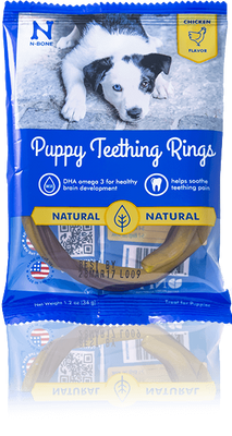 N-Bone teething ring dogs