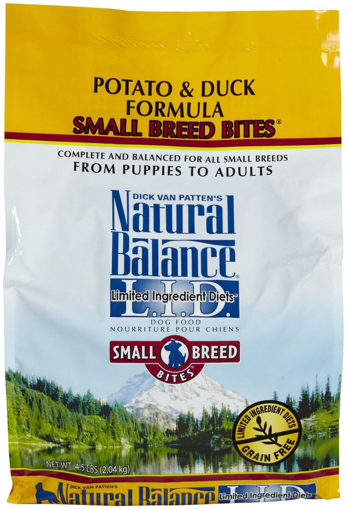 Natural Balance Dry Food - Potato & Duck Small Breed Bites