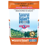 Natural Balance Sweet Potato & Fish Small Breed Bites