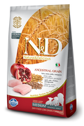 Farmina N&D Ancient Grain Med Puppy Chicken and Pomegranate 25lb